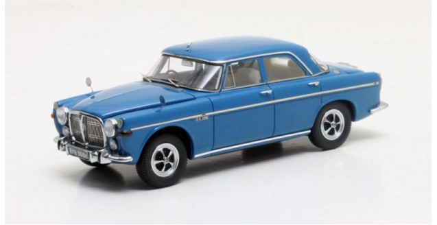Rover 3.5 Litre P5b Saloon Year 1972 Blue 1:43 Matrix MX41706-111