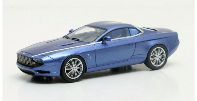 Aston Martin DBS Coupe Zagato Centennial 2013 Purple 1:43 Matrix MX50108-061