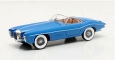 Bugatti T101C Exner-Ghia Year 1966 Blue 1:43 Matrix MX50205-011
