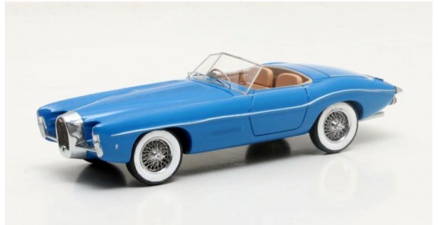 Bugatti T101C Exner-Ghia Year 1966 Blue 1:43 Matrix MX50205-011