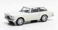 Mercedes-Benz 230 SLX Frua Combi Year 1966 White 1:43 Matrix MX51302-011