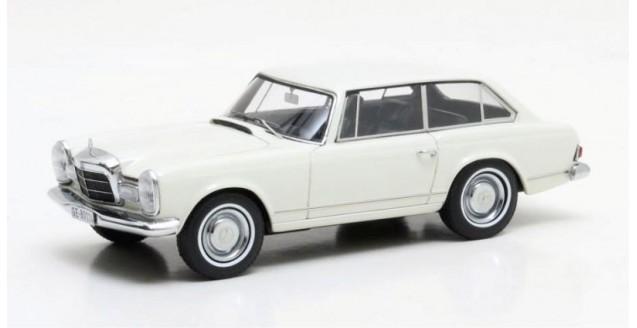 Mercedes-Benz 230 SLX Frua Combi Year 1966 White 1:43 Matrix MX51302-011
