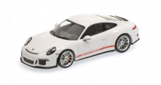 Porsche 911 (991) R year 2016 white 1:43 Minichamps 410066221