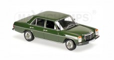 Mercedes Benz 200D (W114/115) 1973 Dark Green 1:43 Minichamps 940034001