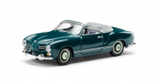 VW Karmann Ghia Cabriolet 1957 Blue 1:43 Minichamps 000099300032