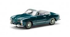 VW Karmann Ghia Cabriolet 1957 Blue 1:43 Minichamps 000099300032