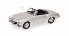 Mercedes-Benz 190 SL 1955 silver 1:18 Minichamps 100037031