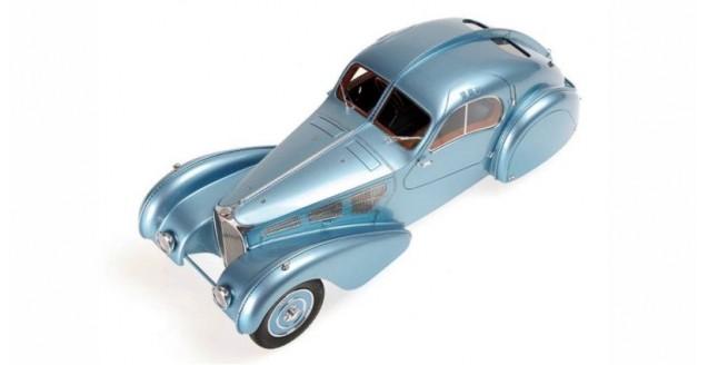 Bugatti Type 57SC Atlantic 1936 Blue Metallic 1:18 Minichamps 107110320
