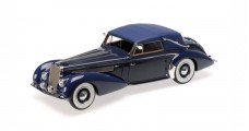 Delage D8-120 Cabriolet Construction Year 1939 Dark Blue 1:18 Minichamps 107115132