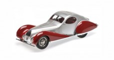 Talbot Lago T 150-C-SS Coupe 1937 Red / Silver 1:18 Minichamps 107117121