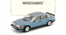 Rover Vitesse 3.5 V8 Construction year 1986 Blue Metallic 1:18 Minichamps 107138400