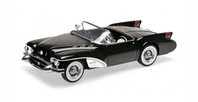 Minichamps 107141222 Buick Wildcat 2 Concept Car Year 1954 Black 1 18