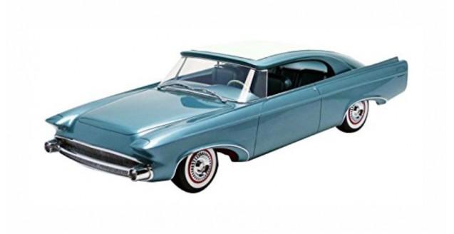 Chrysler Norseman Year 1956 Light Blue Metallic 1:18 Minichamps 107143320