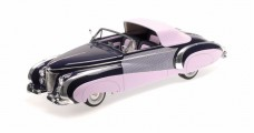 Cadillac Series 62 Saoutchik Cabriolet Year 1948 Pink / Purple 1:18 Minichamps 107148460