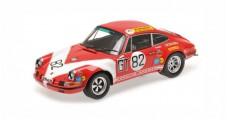Porsche 911 S #82 Class Winner 1000km Nürburgring 1971 Kremer, Neuhaus Red 1:18 Minichamps 107716882