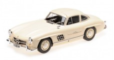 Mercedes Benz 300 SL W198 1955 Creme 1:18 Minichamps 110037212