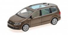 Volkswagen Sharan 2010 Brown 1:18 Minichamps 110051001