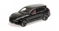 Porsche Cayenne Turbo S Black 1:18 Minichamps 110062100