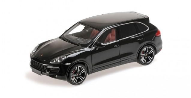 Minichamps 110062100 Porsche Cayenne Turbo S Black 1 18