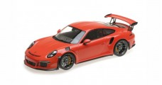 Porsche 911 (991) GT3 RS 2015 Lava Orange 1:18 Minichamps 155066220