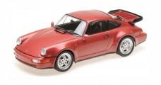 Porsche 911 Turbo (964) 1990 Red Metllic 1:18 Minichamps 110067020