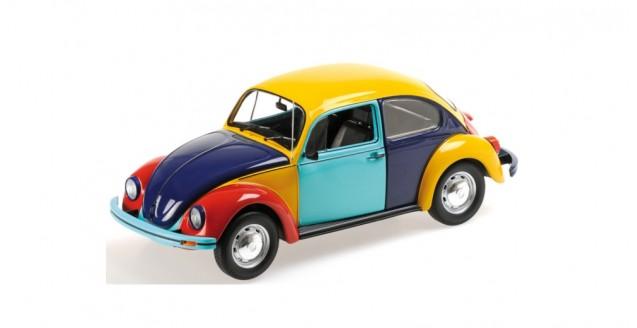VW Beetle 1200 Harlekin 1:18 Minichamps 150057102