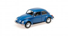 VW Beetle 1200 1983 Blue 1:18 Minichamps 150057104