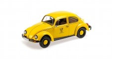 VW Beetle 1200 DBP 1983 Yellow 1:18 Minichamps 150057195