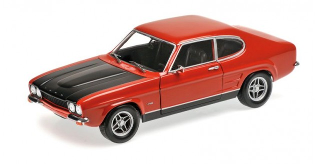 Ford Capri RS2600 Red 1970 1:18 Minichamps 150089076