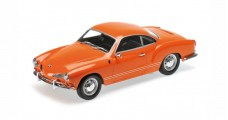 Volkswagen VW Karmann Ghia Coupe 1970 Orange 1:18 Minichamps 155054020