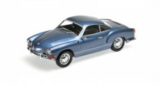 Volkswagen VW Karmann Ghia Coupe 1970 Blue 1:18 Minichamps 155054022