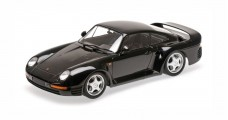 Porsche 959 Black 1987 1:18 Minichamps 155066207