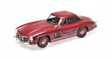 Mercedes-Benz 300 SL Year 1954 Dark Red Metallic 1:18 Minichamps 180039008