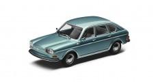 Volkswagen 411 Type 4 Turqoise Blue 1968 1:43 Minichamps 211099300
