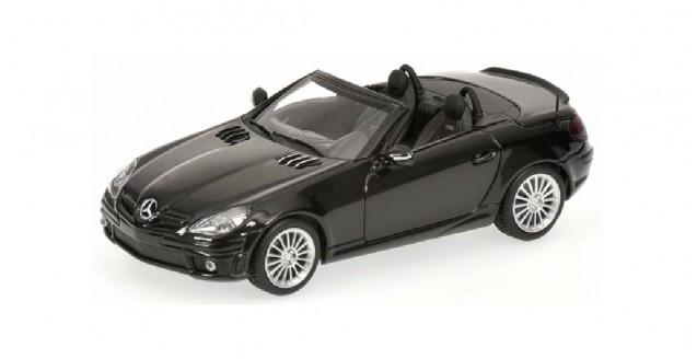 Mercedes SLK AMG Roadster Black 1:43 Minichamps 400033171