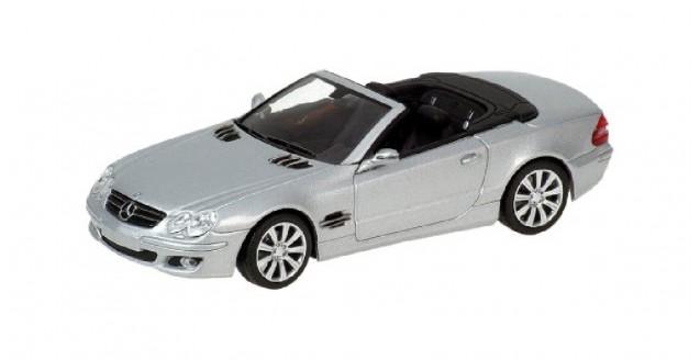 Mercedes SL Class 2006 Silver 1:43 Minichamps 400036130