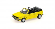 VW Golf Cabriolet 1980 Yellow 1:43 Minichamps 400055130