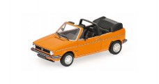 Volkswagen Golf Cabriolet 1980 Orange 1:43 Minichamps 400055131