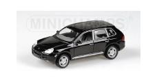 Porsche Cayenne S 2002 Met Black 1:43 Minichamps 400061001