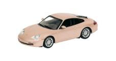 Porsche 911 Coupe Silver 2001 1:43 Minichamps 400061025