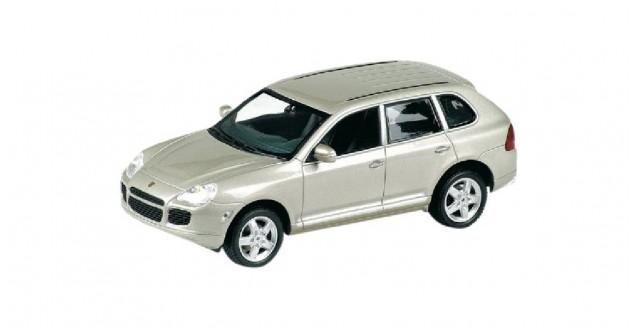 Porsche Cayenne Turbo 2002 Beige 1:43 Minichamps 400061081