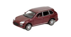 Porsche Cayenne Turbo 2006 Red 1:43 Minichamps 400066270