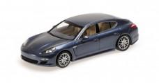 Porsche Panamera 4S Blue 1:43 Minichamps 400068260