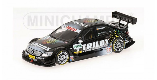 Mercedes Benz C-Class DTM 1996 UPS / No11 Black 1:43 Minichamps 400083711