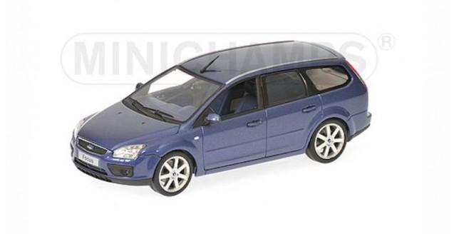 Ford Focus Estate 2006 Blue 1:43 Minichamps 400084012