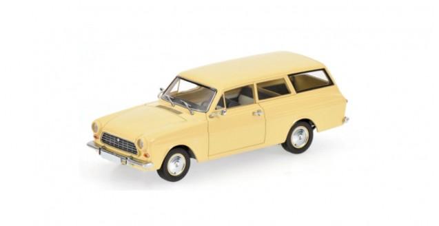 Ford Taunus 12M Break 1962 Cream 1:43 Minichamps 400086111