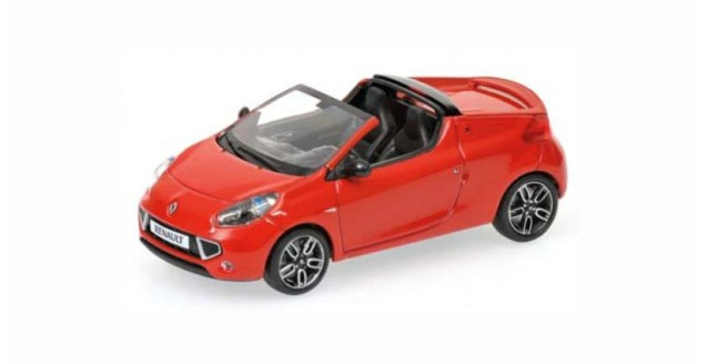 Renault Wind 2010 Red 1:43  Minichamps 400113931