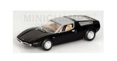Maserati Bora 1972 Black 1:43 Minichamps 400123400
