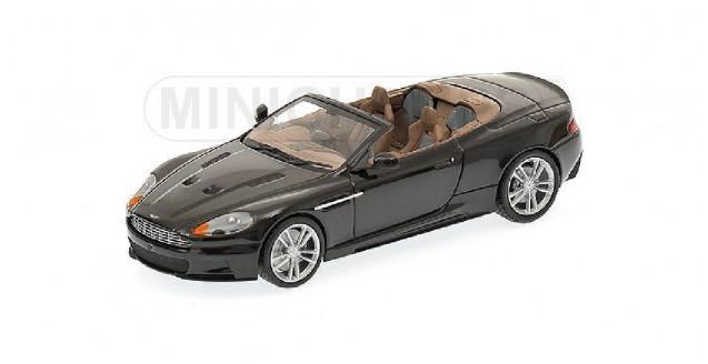 Aston Martin DBS Cabriolet 2010 Black 1:43  Minichamps 400137930