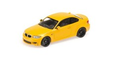 BMW M1 Coupe 2011 Yellow 1:43 Minichamps 410020027